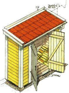 Så snickrar du en vedbod | Planering | Bygg | viivilla.se