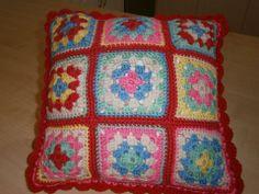 Cath Kidston Crochet cushion  Happy to share instructions.