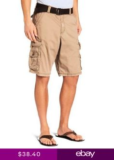 037da64a540b Lee Mens LEE Dungarees Belted Wyoming Cargo Short- Pick SZColor.