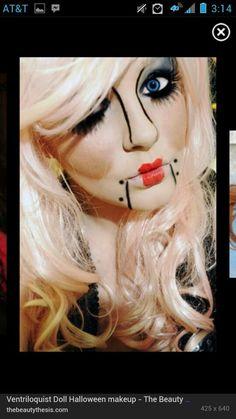 DIY Halloween Makeup : Makeup halloween