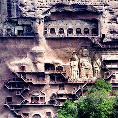 Maijisha - Grotten, China, 200 AD