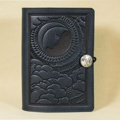 Leather Cover | The Moon | Navy