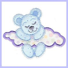 Sweet Dreams - Free Instant Machine Embroidery Designs