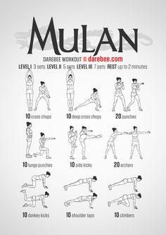 Mulan Workout- HIGH BURN STREAMLINE