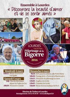 Pèlerinage de la Bigorre à Lourdes 2016