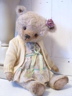 Agnes A Vintage Style Artist Bear by KristinaBears on Etsy