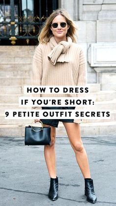 Want to know how to dress if you're on the shorter side? We've got nine foolproof rules that petite women should follow.