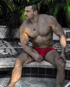 #lassevo #la #swimsuit #swimwear #menswear #mensfashion #fashion #design #redbriefs #swimbriefs #necklace #accessories #mensaccessories #czechbrand #madeinczech #muscle #muscular #fitness #gym #bodybuilding #bodybuilder #beachbody