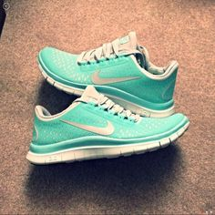 new concept 0fc09 675f2 Tiffany Blue nike Free run 3.0 v4 Cheap Sneakers, Nike Shoes Cheap,  Sneakers Nike
