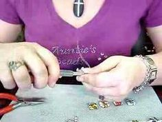 How to make a wire wrapped bracelet http://blog.beadingbuds.com/2008/11/this-video-shows-how-to-make-wire.html