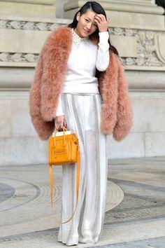 Belle Époque - Paris Fashion Week Street Style - Discover More Street Style - ELLE