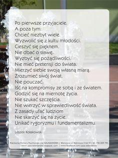Leszek Kołakowski - Przykazania