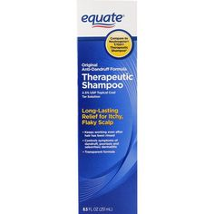 Equate Original Anti-Dandruff Formula Therapeutic Shampoo, 8.5 Fl Oz (2.5% USP Topical Coal Tar Solution) Compare to Neutrogena T/Gel Therapeutic Shampoo -- Find out more about the great product at the image link.