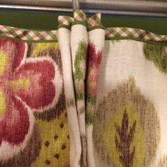 Cafe Curtains, Custom Curtains, Custom Window Treatments, Wall Treatments, Hidden House, Flirt, Drapery Panels, Window Dressings, Fabric Wallpaper