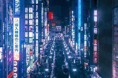 iconoCero: Cody Ellingham, Tokyo y su mística cyberpunk. > da click en la imágen para leer nuestro articulo > fotografia urbana, fotos de paisajes citadinos, inspiracion, urban landscapes, cool photos, inspiration, increibles.