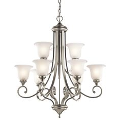 Monroe 9 Light LED Chandelier NI