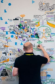Scriberia drawing the day by The IBM Summit at Start, via Flickr < I <3 the C....O...L...L...A...B...O...R...A...T...I...O...N....