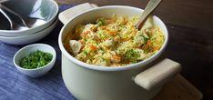 Kjøp Alt-i-ett gryte med ris og kylling og resten av ukeshandelen med ett klikk! Middagen som lages i en og samme gryte. Kylling og ris er barnevennlig – en skikkelig familiemiddag:)