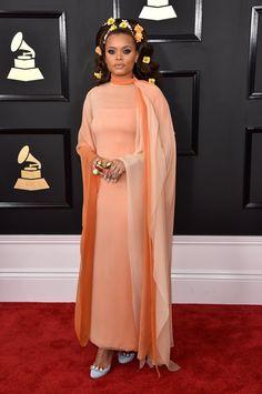 Grammys Red Carpet Dresses 2017   POPSUGAR Fashion Photo 10...Andra Day
