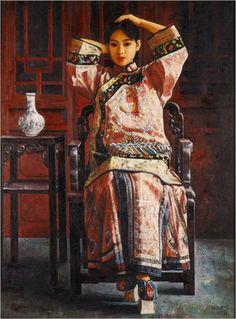 Di Li Feng - Girl in Festive Costume