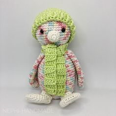 Pinguine vom 1. Winter-Cal - Nephi-Handmade  #crochet  #häkeln #nephihandmade #cal