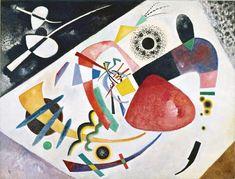 Wassily Kandinsky. Red spot II, 1921