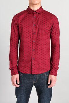 Snowflake L/S Woven Shirt