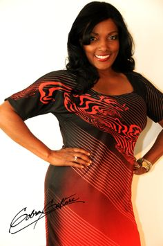 This Cobra Culture Miracle dress is hot hot hot.  Red and black never looked so good together.