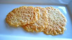 Frico   (Parmesian-Reggiano crisps)  simple recipe