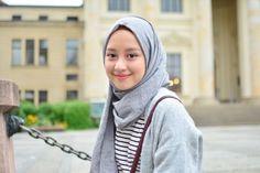 Niqab Fashion, Ulzzang Fashion, Ulzzang Girl, Modest Fashion, Korean Fashion, Casual Hijab Outfit, Ootd Hijab, Girl Hijab, Hijab Chic