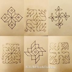 Indian Rangoli Designs, Simple Rangoli Designs Images, Rangoli Border Designs, Small Rangoli Design, Rangoli Designs With Dots, Rangoli With Dots, Beautiful Rangoli Designs, Mehndi Designs, Lotus Rangoli