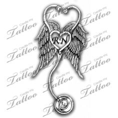Marketplace Tattoo Nurses Stethascope #11161 | CreateMyTattoo.com