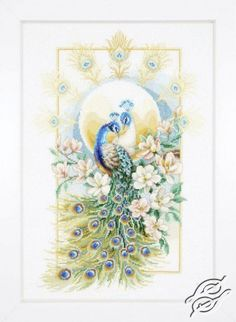 Proud Peacock - Cross Stitch Kits by VERVACO - PN-0148913