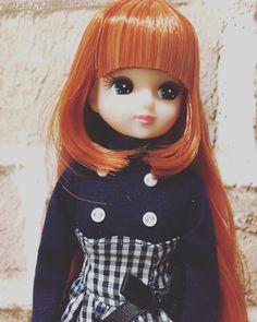 """""""オクで落とした、お人形教室SPの新入りちゃん。 凄い可愛い❤️ ほんとはボヘミアンな格好させたい。 #リカちゃん #リカちゃん #licca #liccachan"""""""