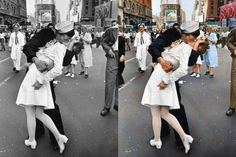 O famoso beijo naTimes Square
