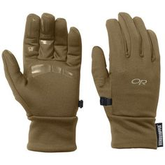 #windstopper gloves for running or cross country skiing! Backstop Gloves (Men's) #OutdoorResearch at RockCreek.com