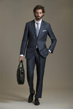 Brioni cool suits, spring summer fashion, trends, men formal, formal w Gentleman Mode, Dapper Gentleman, Gentleman Style, Mens Fashion Suits, Mens Suits, Dolce & Gabbana, Madrid, Men Formal, Fashion Show