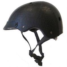 coolest helmet ever! Crocodile Black - Sawako Furuno