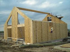 EPS buildings are built for agricultural, residential and commercial users, including structural insulated panels, pole barns, post frame buildings and new home packages. Oriented Strand Board, Structural Insulated Panels, Baywatch, Garden Office, Cabin Ideas, Building Materials, Iowa, House Plans, Photo Galleries