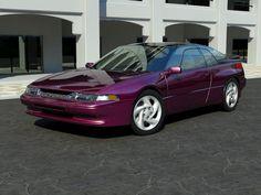 3D Subaru SVX 1991