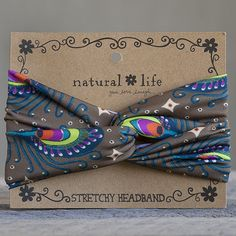Hair Accessories: Brightly Patterned Stretchy Headbands | Natural Life