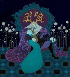 Beauty and the Beast Beauty And The Beast Art, Beauty Beast, Belle And Beast, Dibujos Cute, Fairytale Art, Disney Art, Art Inspo, Amazing Art, Character Art