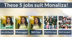 Which 5 jobs suit you?