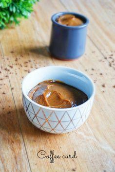 Envie de quelque chose d;original à tartiner, sur vos crêpes, des tartines, ou à mettre dans des moelleux? Testez ce coffee curd!