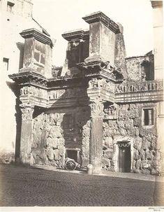 1865 circa Altobelli e Molins . Forno alle Colonnacce.