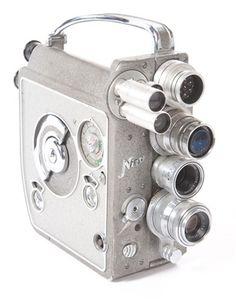 Vintage Nizo 8mm Film Camera, 1950's / via VandM