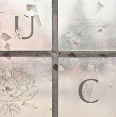 Alfabeto floral Beatrice con 31 imágenes, fuente con adornos florales pintados a mano, alfabeto letra capital, fuente, alfabeto vectores #alphabet #floralfont #floralalphabet https://etsy.me/2Hqyt8z