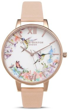 Olivia Burton Painterly Prints Watch, 30mm. Watch fashions. I'm an affiliate marketer. When you click on a link or buy from the retailer, I earn a commission.