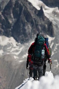 On the ridge #Chamonix #atlasformen #atlasformende #atlasformendeutschland #meinung