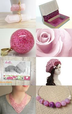 Wednesday in pink... by Sara Baruffaldi on Etsy--Pinned with TreasuryPin.com